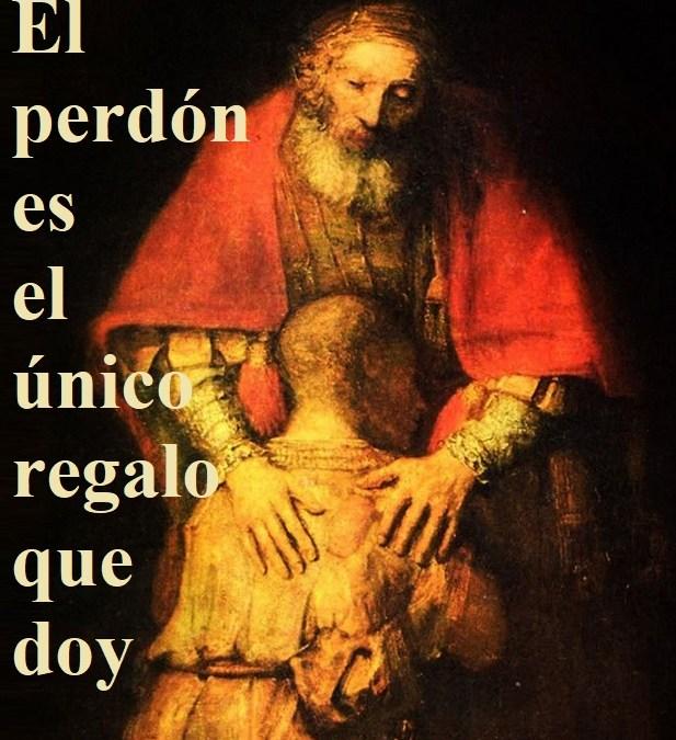 """Reflexión lección 297 (24.10.19) """"El perdón es el único regalo que doy""""."""