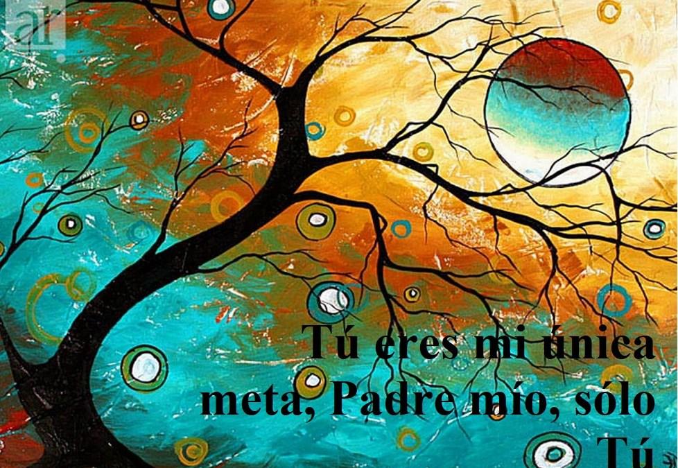 "Reflexión lección 287 (14.10.21) ""Tú eres mi única meta, Padre mío, sólo Tú""."