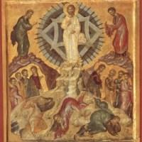 """interpretarea icoanei ,,Schimbării la Față a Domnului Iisus Hristos"""""""