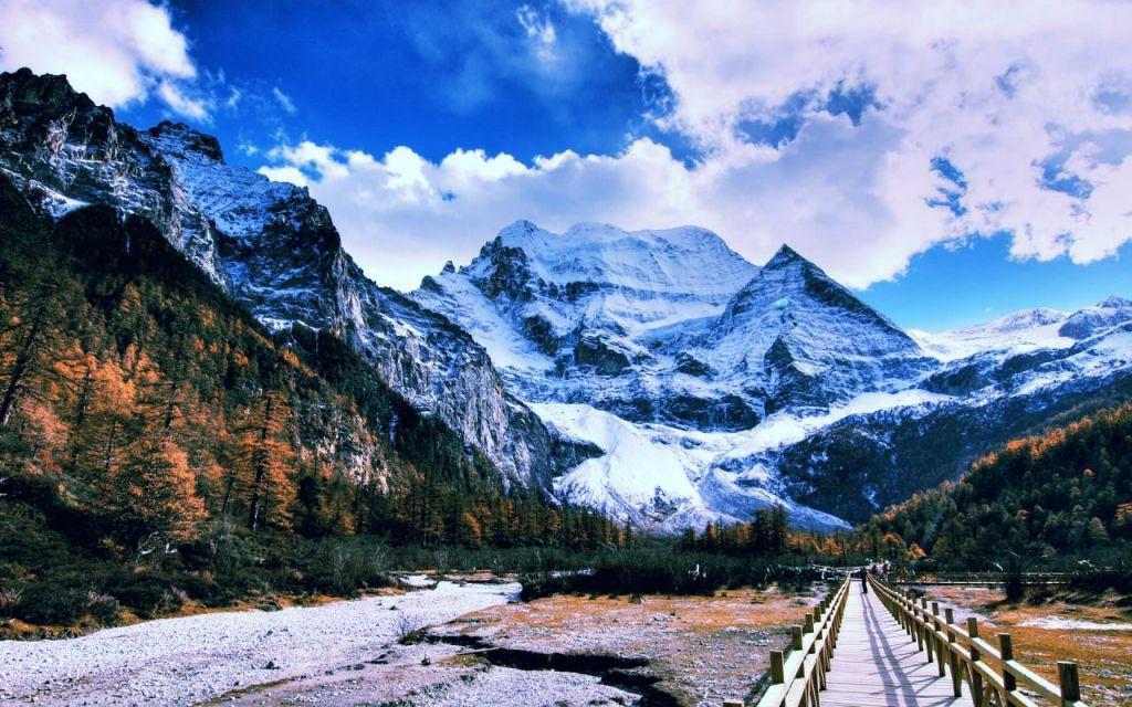 munte frumos