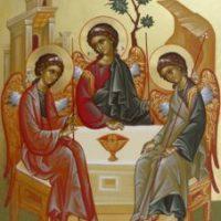 Icoana Sfintei Treimi - icoana armoniei perfecte și a iubirii desăvîrșite