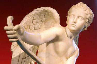 St. Valentine, Cupid and Jesus Christ