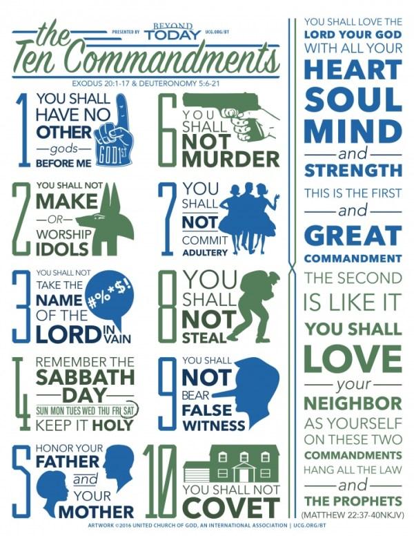 10 commandments bible # 23