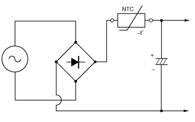 Inrush Current Limiting Power NTC Thermistors For Switch