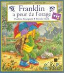"""Адаптированная книга для малышей """"Franklin a peur de l`orage / Франклин боится грозы"""""""