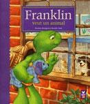 """Адаптированная книга на французском языке для малышей """"Franklin veut un animal / Франклин хочет свое домашнее животное"""""""