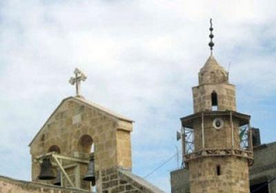 لقاء اسلامي مسيحي في دير المخلص بعيد البشارة