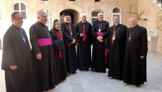 مجلس رؤساء الكنائس الكاثوليكيَّة في سوريا البيان ختامي