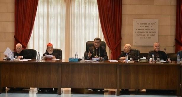 المطارنة الموارنة: لا للتطاول على مقام الرئيس ولايقاف الحملة