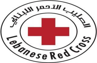 سيارة إسعاف للصليب الأحمر اللبناني