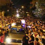 من احتفالات اختتام الشهر المريمي في حريص