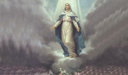 مريم سيدة المحبة الإلهية : إستعدادًا لعيد سيدة الانتقال