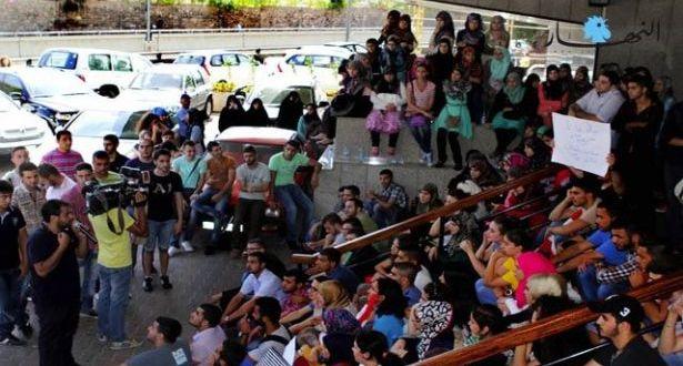 تحرّك طالبيّ رفضاً لزيادة رسوم التسجيل في اللبنانية مطالبة الجامعة بالتراجع عن قرار لمجلس الوزراء!