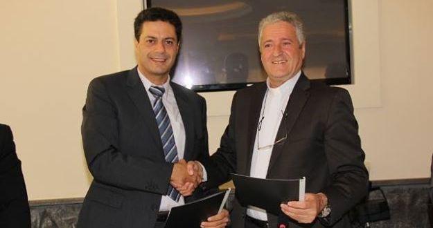 """ليبقى لبنان بلد التوازن والتنوع والعدالة الإجتماعية جمعيتي """"لابورا"""" واللبنانية للانماء الريفي"""" وقعتا إتفاقية تعاون في عكار"""