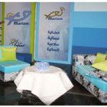 الستوديو الخاص بقناة مريم في مبنى تيلي لوميار في الدورة