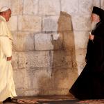 البابا فرنسيس وبطريرك القسطنطينيّة برتلماوس
