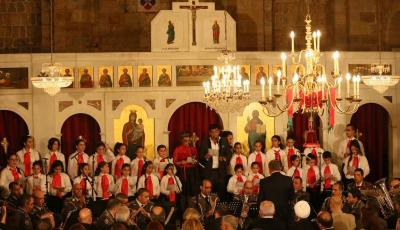احتفالات الميلاد في ضهور الشوير تجلت بوحدة كنسية وصلوات اسلامية ومسيحية