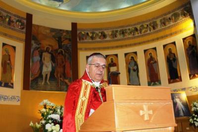 العمار ترأس قداس عيد مار شربل في بقاعكفرا