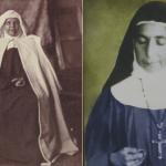 الراهبتين ماري الفونسين غطاس مؤسسة راهبات الوردية ومريم بواردي الكرملية