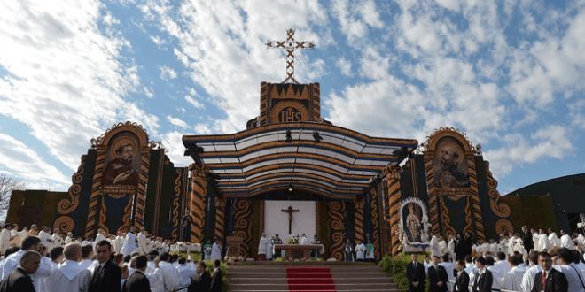 مع هيكل فريد، البابا فرنسيس يختتم زيارته إلى أمريكا الجنوبية