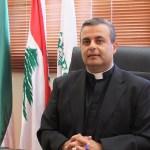 الأب جان - بول أبو غزاله رئيس مدرسة الحكمة الأم في بيروت