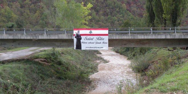 التحضيرات مستمرة لرفع الستار عن تمثال القديسة ريتا في كاسيا