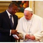 البابا فرنسيس يستقبل رئيس جمهورية توغو
