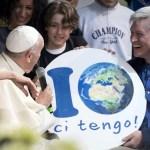 """البابا فرنسيس يزور معرض """"قرية الأرض"""" في روما"""