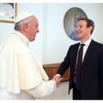 البابا فرنسيس يستقبل مؤسس فايسبوك مارك زوكيربرغ
