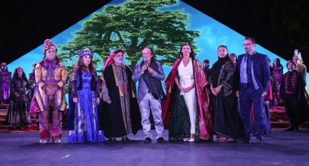 """""""مقامات للرقص المعاصر"""" كرّمت عبد الحليم كركلا الحريري: أضاف عموداً تاسعاً إلى أعمدة بعلبك"""