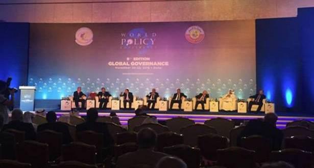"""""""النهار"""" في """"مؤتمر السياسات العالمية"""" بالدوحة، الإرهاب والانعزال وانتخاب ترامب أبرز التحديات"""