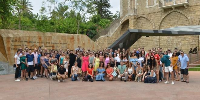 350 شابا أرمنيا التقوا في بيروت ضمن برنامج YOUNG PROFESSIONALS