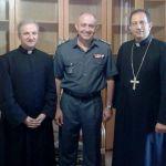 قائد منطقة الشمال الإقليمية في قوى الأمن جال في منطقة جبة بشري والوادي المقدس