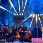 الفنانة ماجدة الرومي بمرافقة الأوركسترا الوطنية بقيادة لبنان بعلبكي في اختتام «مهرجانات بيت الدين الدولية»