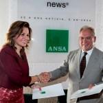 اتفاقية تعاون بين الوكالتين الوطنية وانسا في روما