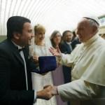 البابا فرنسيس يبارك زواج الدكتور شربل سعاده والشاعرة ماريا تيمتشوك