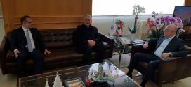 """رئيس مؤسسة """"لابورا"""" يلتقي فنيانوس: للتعاون على تطوير المؤسسات"""