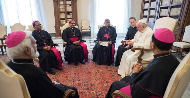 رئيس مجلس أساقفة باكستان يتحدث عن لقاء البابا فرنسيس مع الأساقفة الباكستانيين