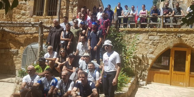 مسيرتان من إهدن وبشري وقداس مشترك احتفالا بعيد العذراء