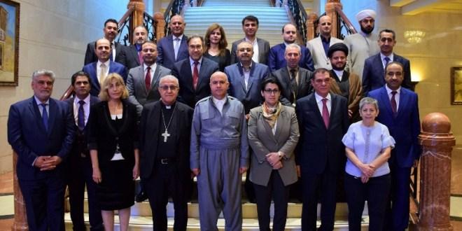 مؤسسة أديان استضافت الحوار العراقي لبناء الوطن والمواطنة