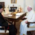 البابا فرنسيس عرض والراعي الاوضاع في لبنان والمنطقة وما يواجه الكنائس والمسيحيين من تحديات