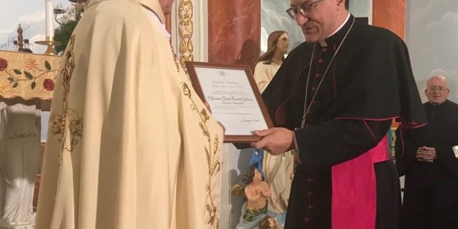 البابا فرنسيس منح رتبة مونسنيور الى ابن بلدة سبعل الخوري الفونس طرطق