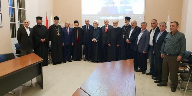 اللقاء التشاوري لملتقى الأديان وشبكة الامان: لمؤسسات أهلية تنهض بالوطن من ركام النزاعات الطائفية
