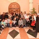 أسر ضحايا اعتداء دير الأنبا صموئيل في الكاتدرائيّة المرقسيّة