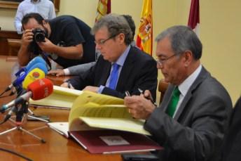 Miguel Ángel Collado y Jorge Enrique Silva ratifican su acuerdo