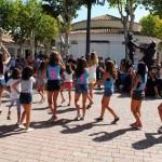 Flashmob realizado en los exteriores del stand de la UCLM
