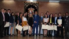 Fotografía de grupo con los alumnos que han cursado la XVIII edición
