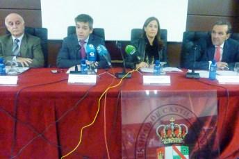 De izda. a dcha.: Eduardo Espín, Manuel Villasalero, Rosa Romero y Tomás Vidal