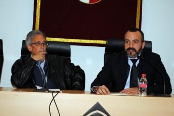 Antonio Nebot y Diego Gómez, en la presentación