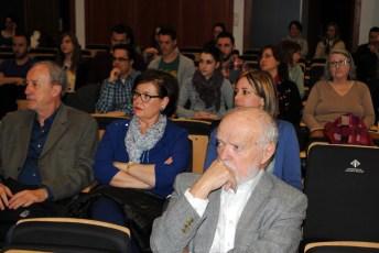 En primera línea, el ponente Martín Pallín